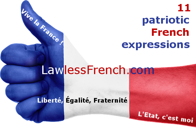 Patriotic French expressions