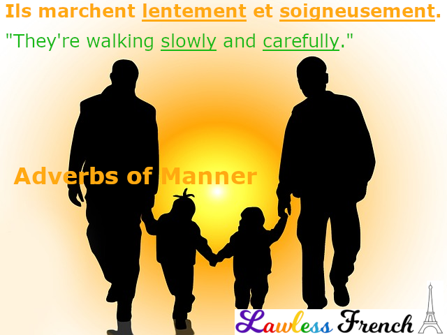 French adverbs of manner