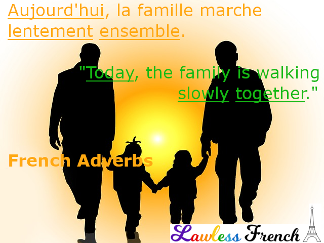 French adverbs