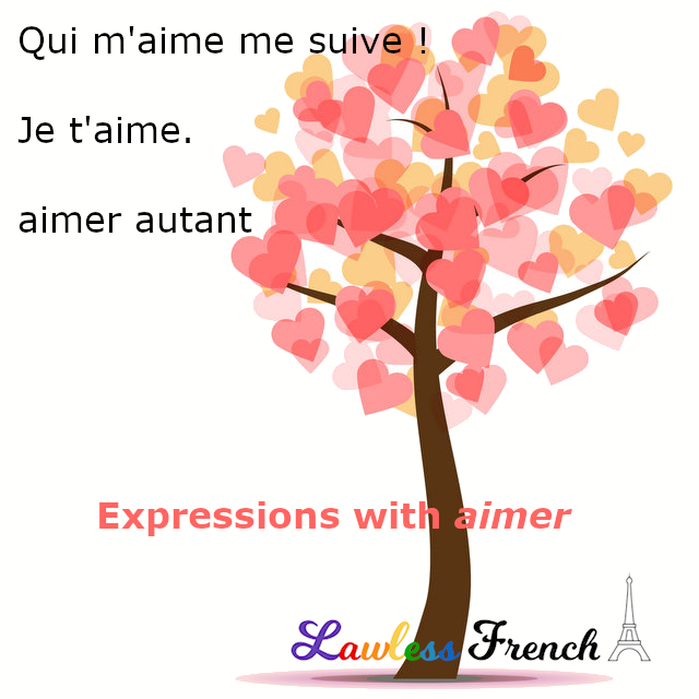 Aimer - French phrases