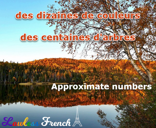 French approximate numbers