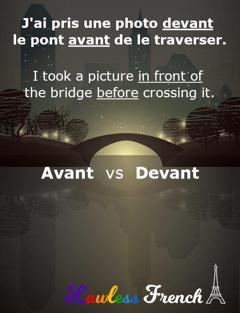 French preposition sur
