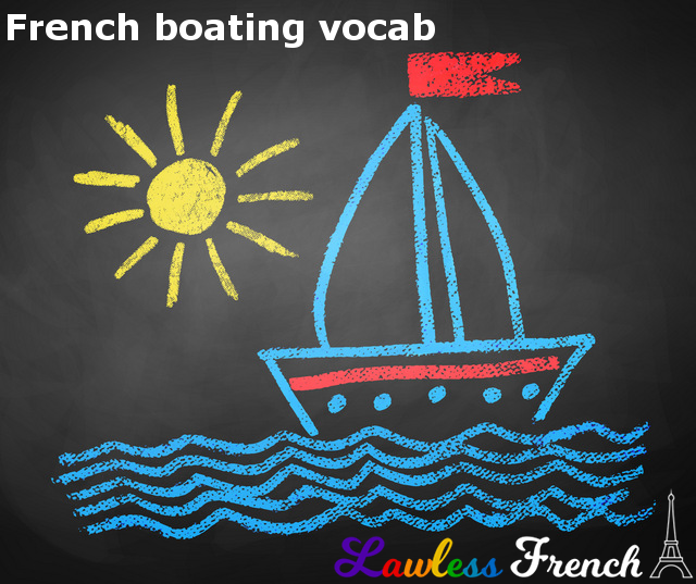 French Boating Vocabulary - Lawless French - Nautical French