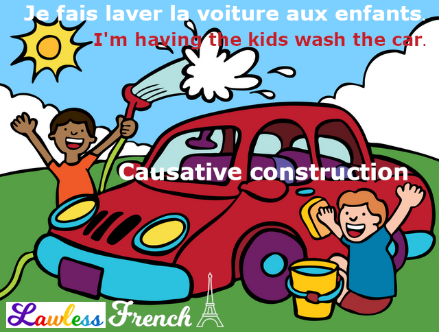 French causative - Faire + infinitive