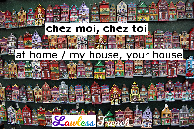 French preposition chez