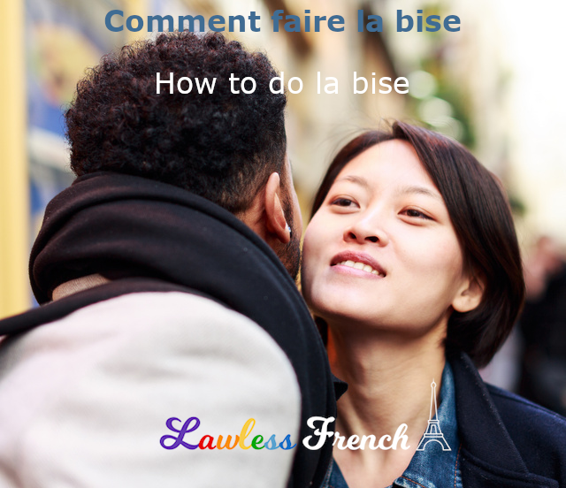 How to kiss French cheeks