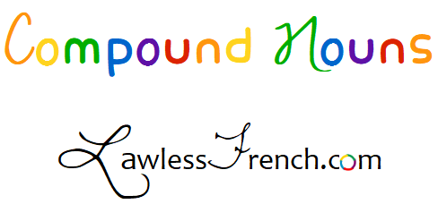 French compound nouns