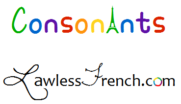 French consonants