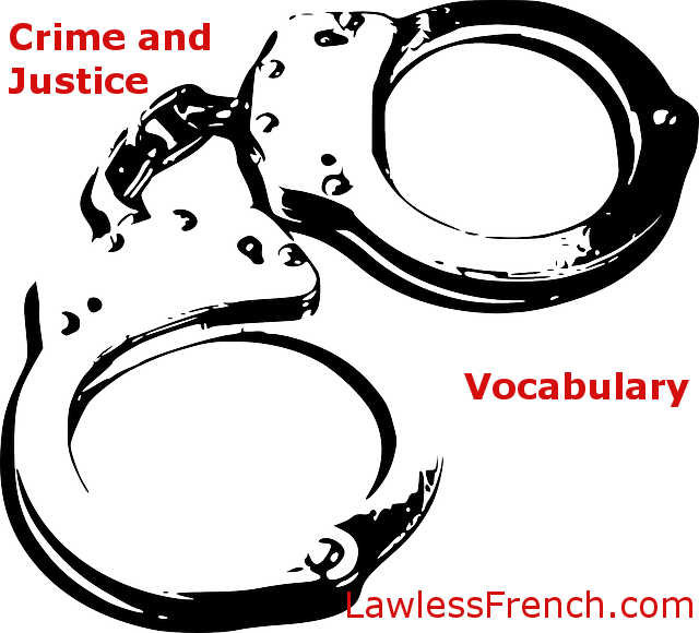 Vocabulaire de crime et justice