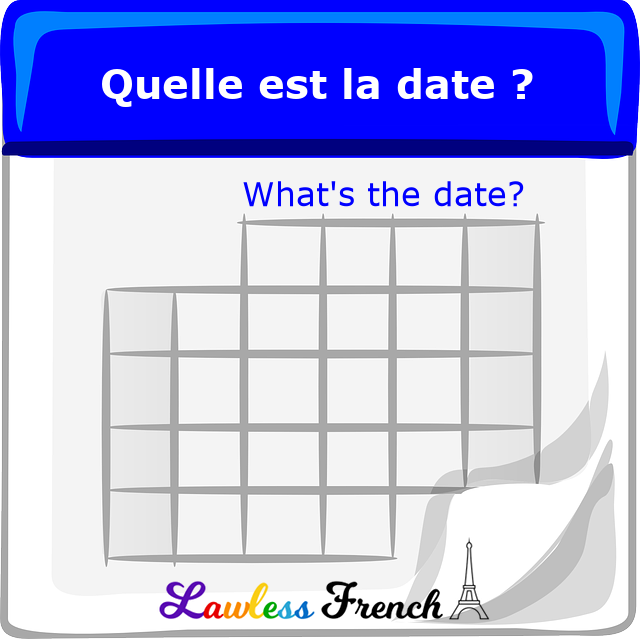 French dates