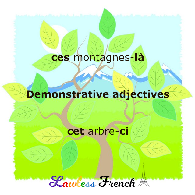 Ce, cette, ces - French demonstratives