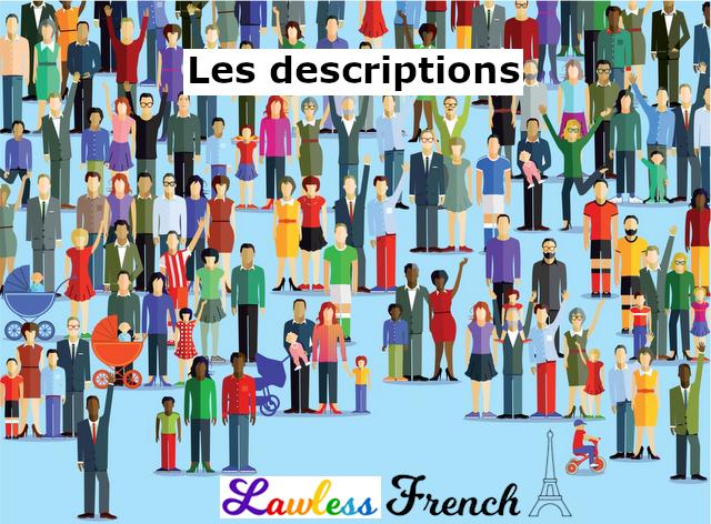 French descriptions
