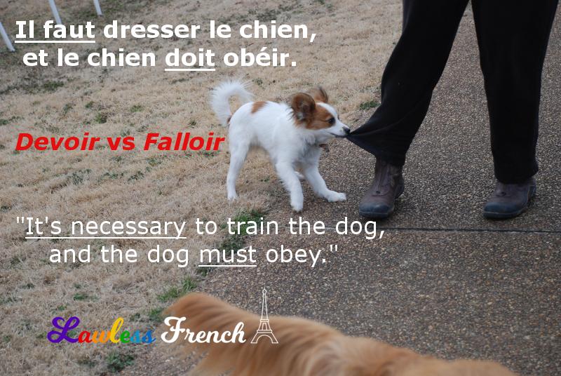 Falloir vs devoir