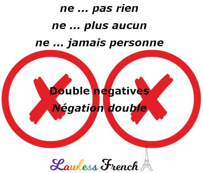 French double negatives