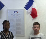 Flags in French class