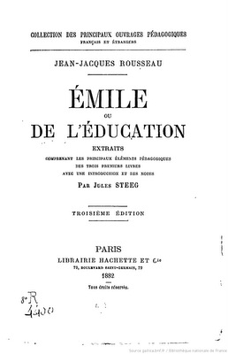 Émile, ou de l'Education