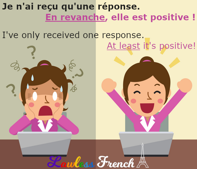 En revanche - French expression