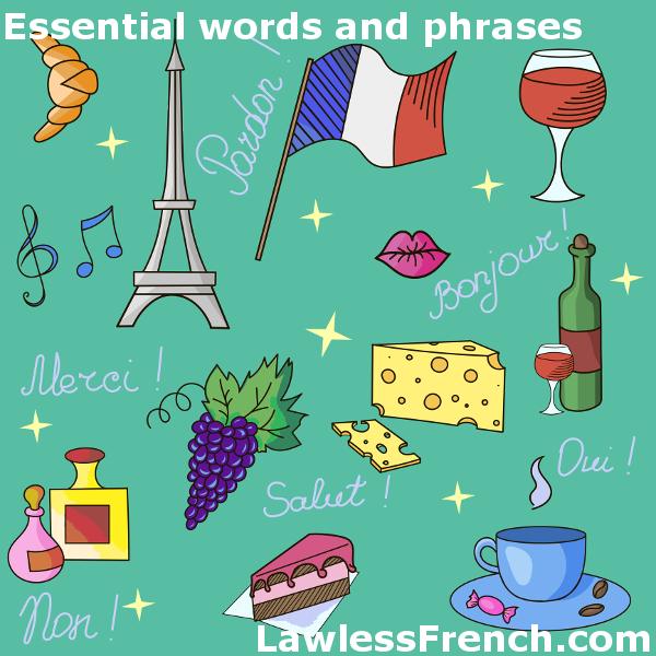 photograph relating to French Travel Phrases Printable titled Significant French Vocabulary - Survival French - Lawless
