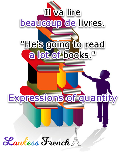 French expressions of quantity