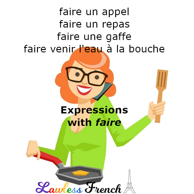 French expressions with faire