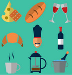 French food and drink