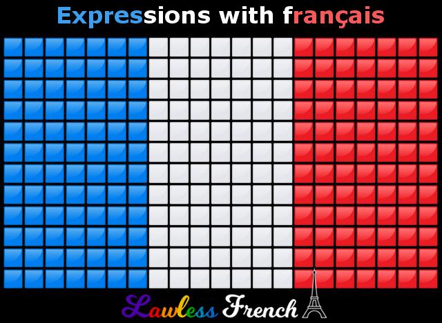 Expressions with français