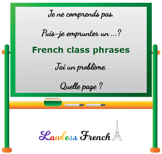 French class phrases