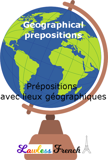 French prepositions with geography