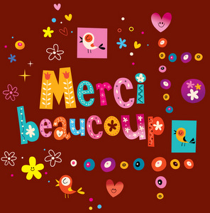French expressions of gratitude