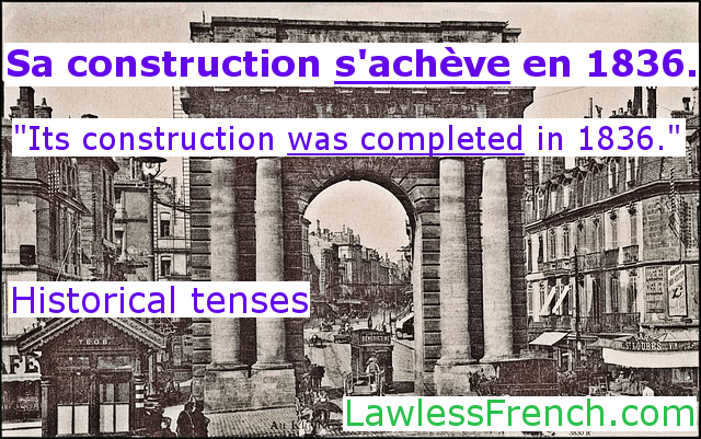 Historical French tenses
