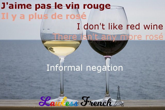 Informal French negation