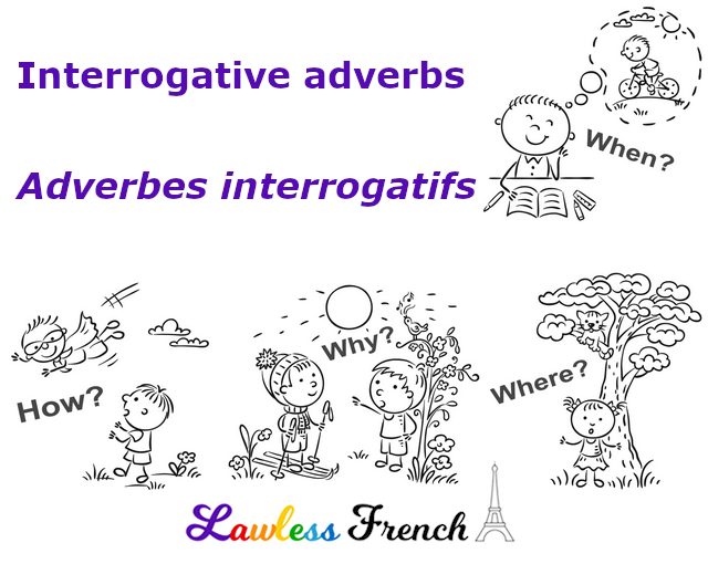 French interrogative adverbs