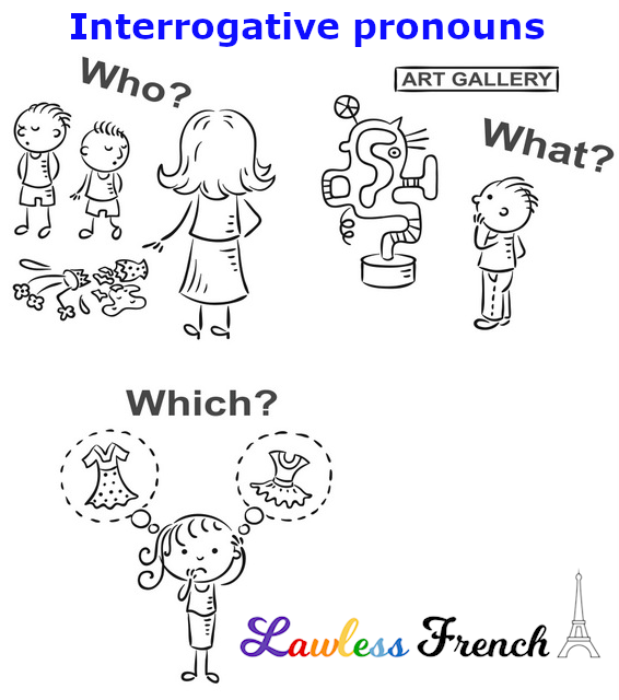 French interrogative pronouns