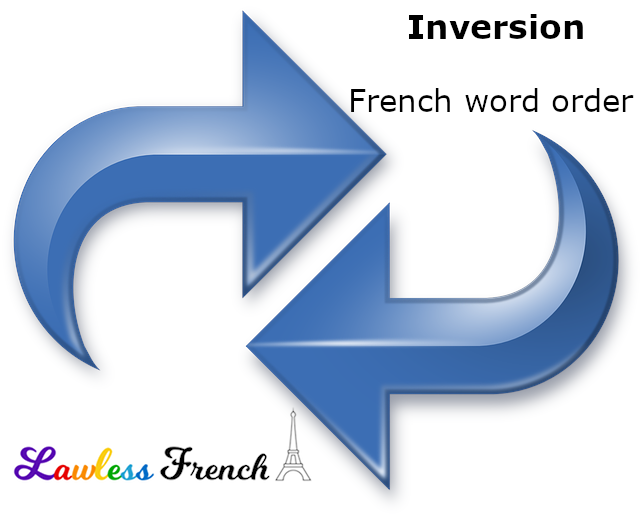French Inversion Word Order Lawless French Grammar