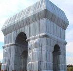 Arc de Triomphe, Wrapped