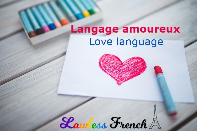 French love language