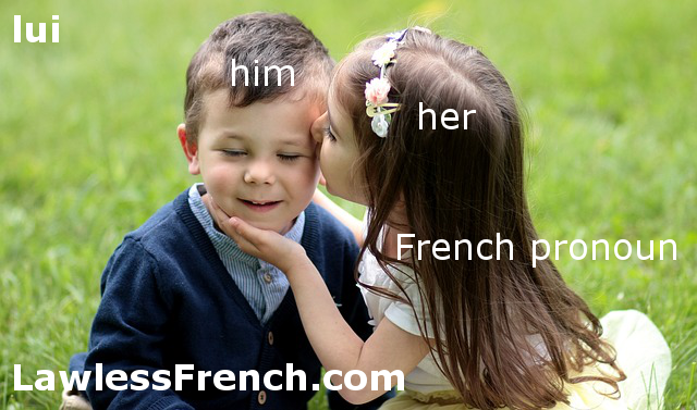 Lui - French pronoun