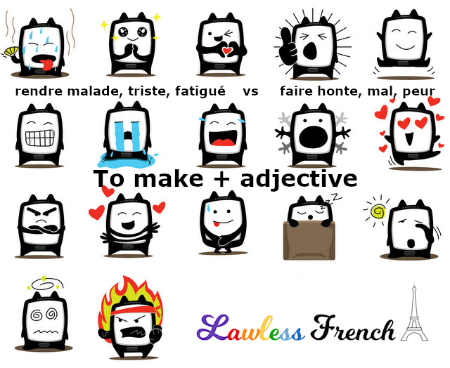 French make plus feelings