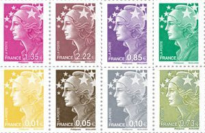 Marianne on stamps