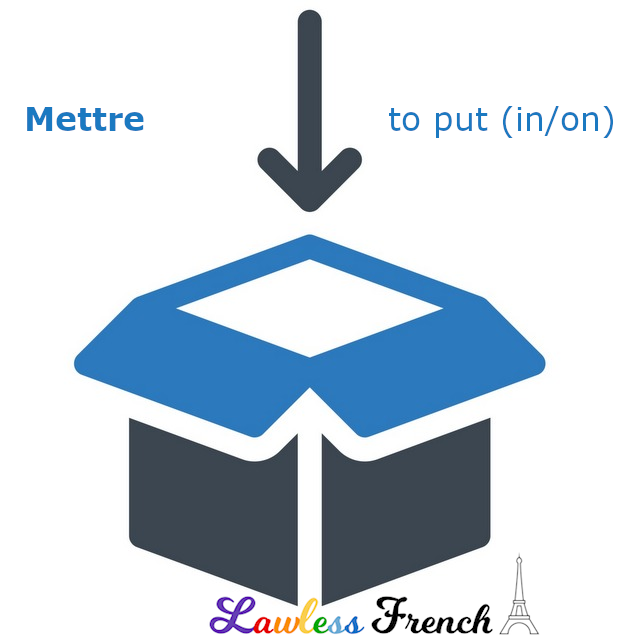 Mettre - to put