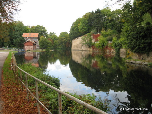 Canal de Jouy à Metz