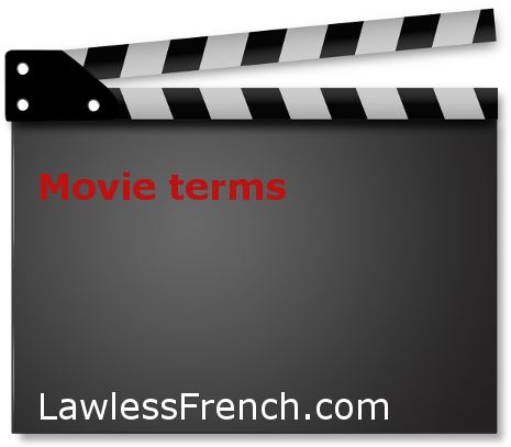French movie terms