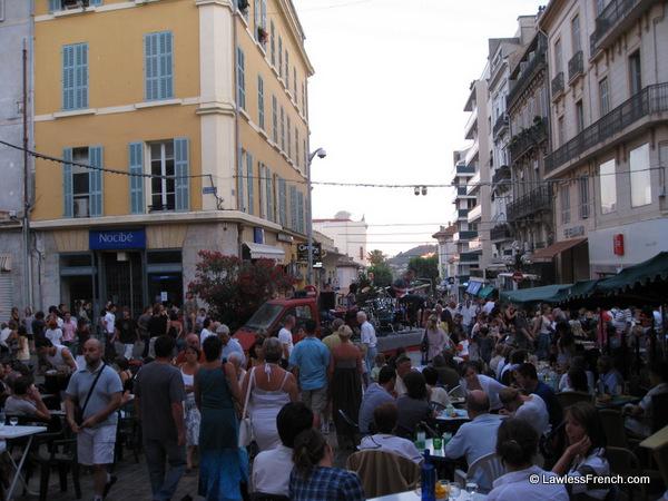 Une bande de jazz, Fête de la musique, Hyères 2009