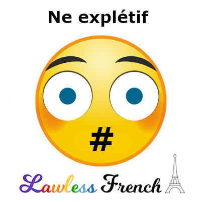 Ne explétif - Non-negation in French