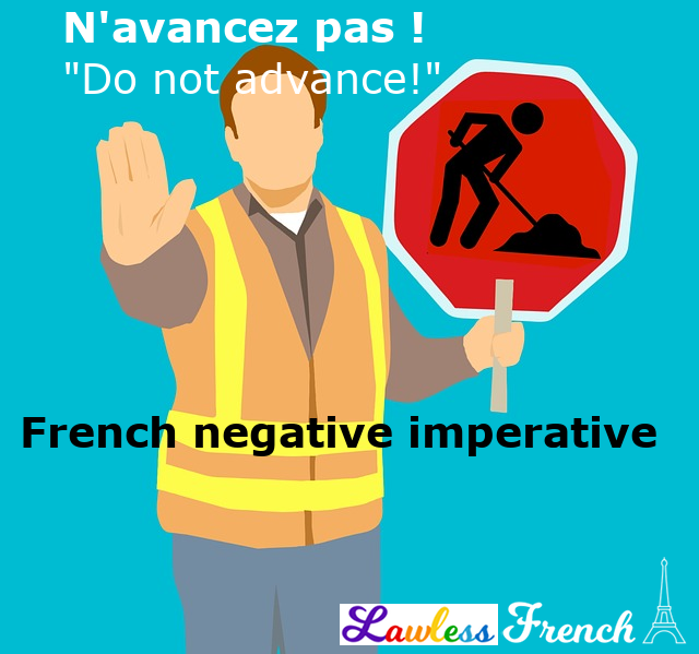 French negative imperative