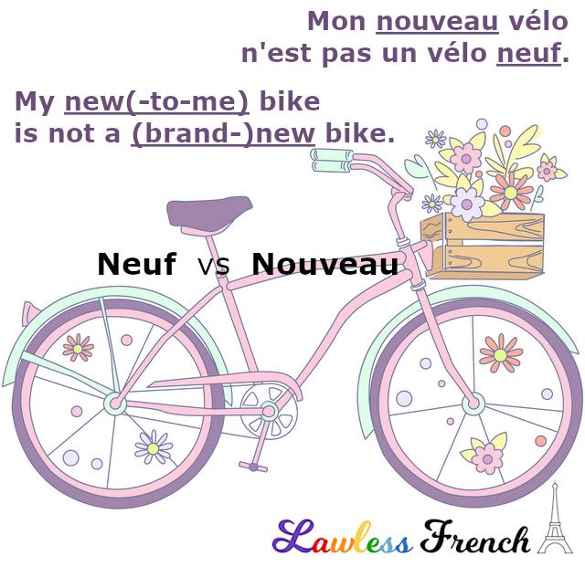Nouveau vs neuf