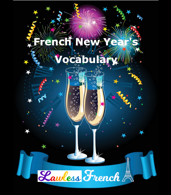 French New Year's vocabulary