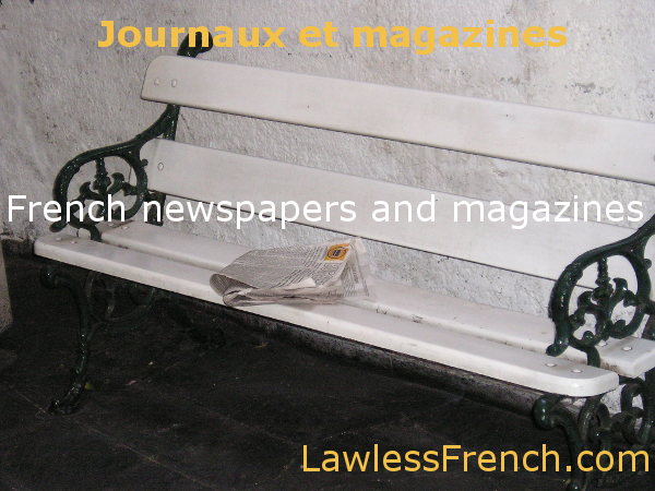 French newspapers