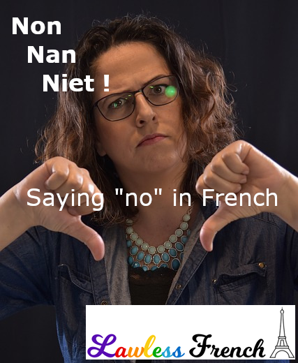 French synonyms for non