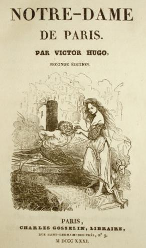 Notre dame de Paris, de Victor Hugo